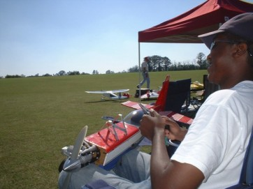Model aviation at Hodges Airfield - Andersonville, GA