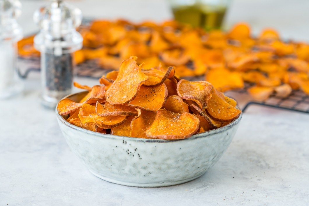 Clean-Baked-Sweet-Potato-Chips